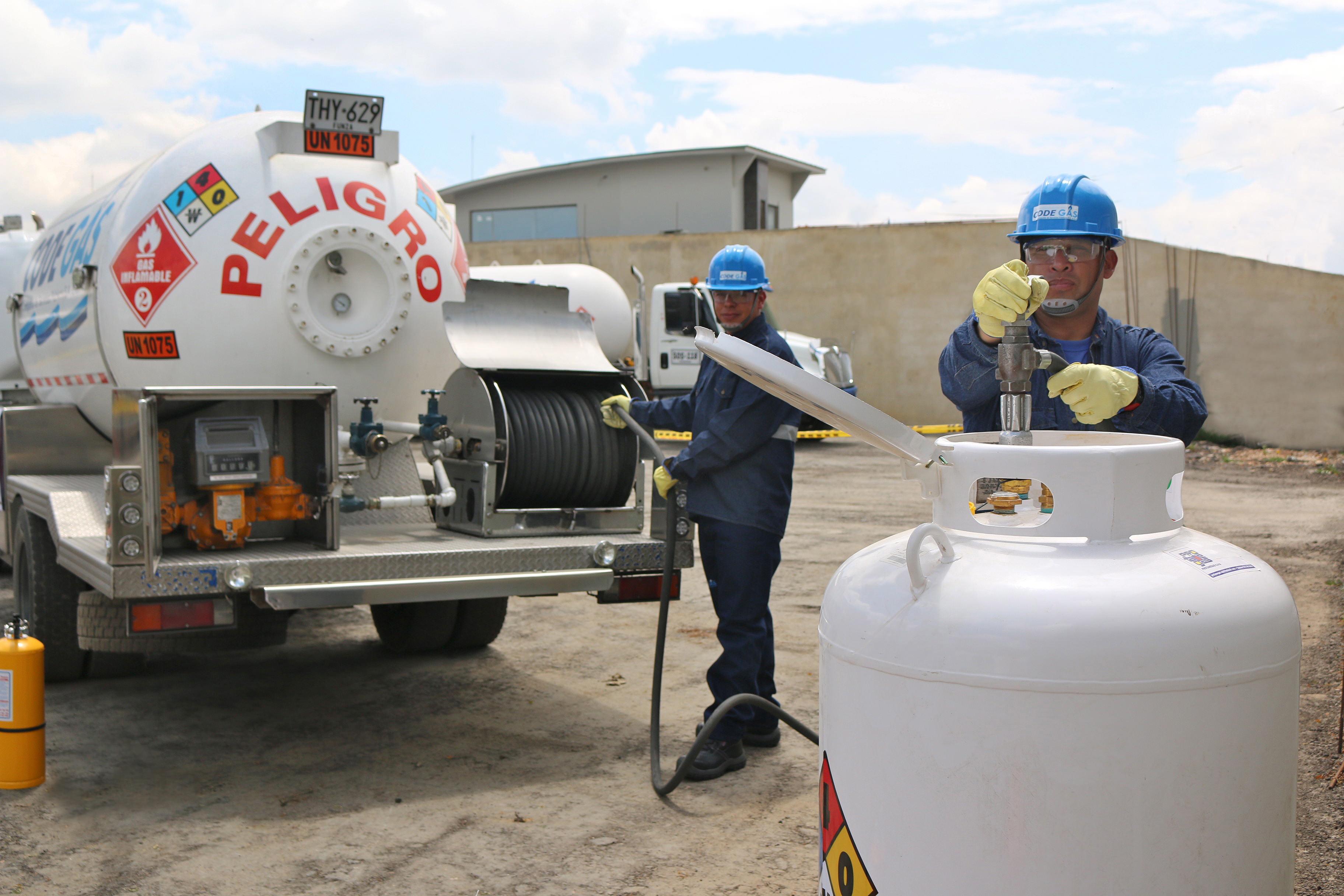 comercializacion de gas propano