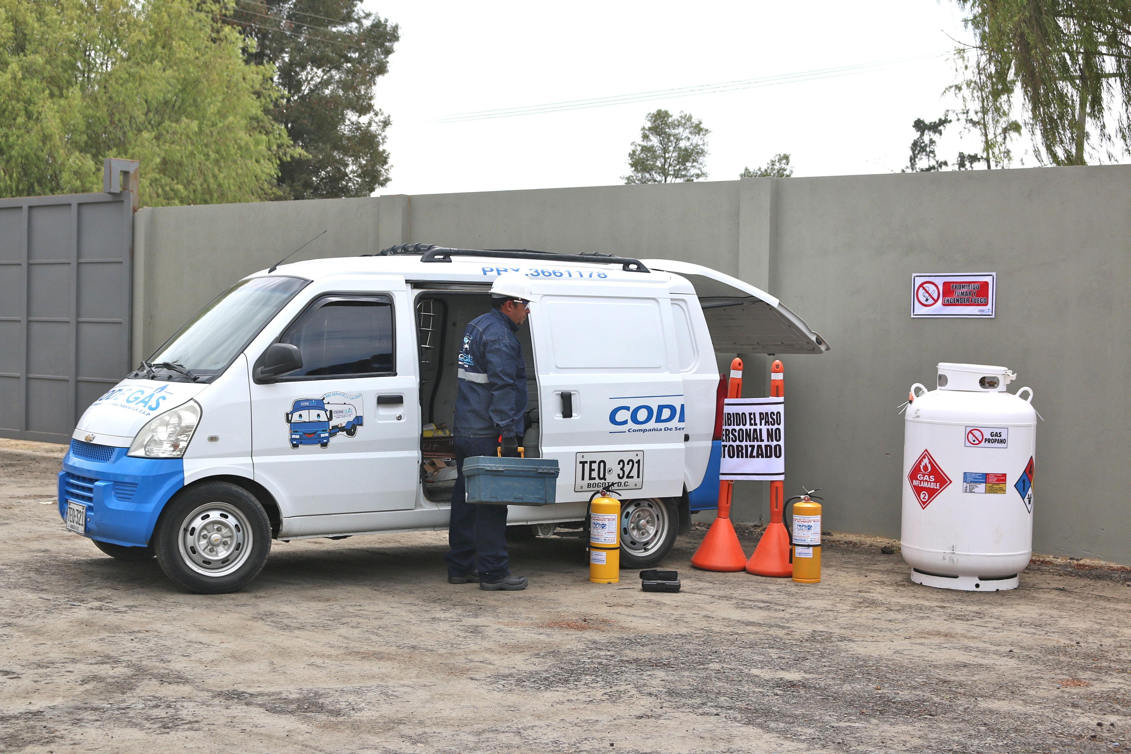 comercialización de gas propano Bogotá